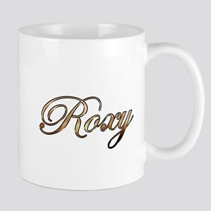 Gold Roxy Mugs